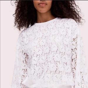 Kate Spade ♠️ lace top nwot
